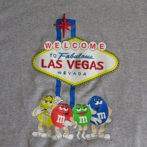 Vintage Shirts - M&M's Las Vegas MEDIUM