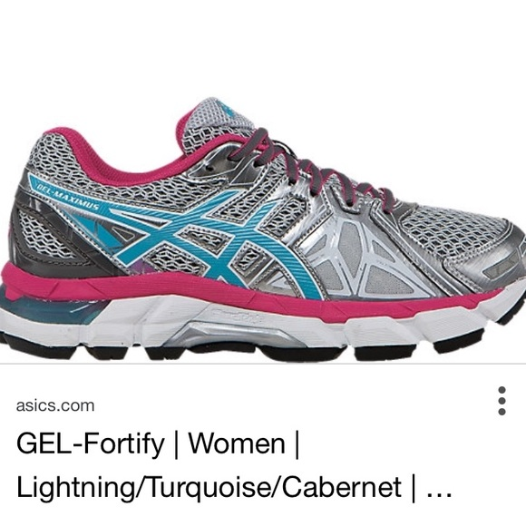 Asics Gel Fortify Womens Shoes 8M