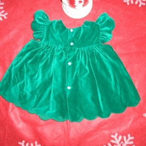 Vintage Dresses - Adorable Vintage Baby Girl Christmas Dress