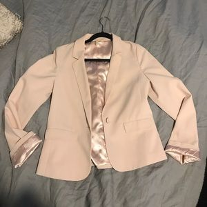 Frenchi peach blazer M