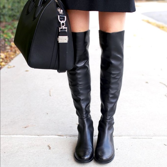 Stuart Weitzman 50/50 Knee-High Boots