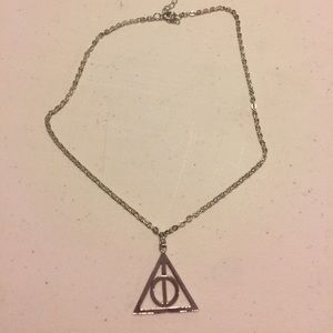 Jewelry - Harry Potter Deathly Hallows necklace pendant