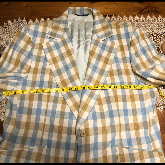 Vintage Suits & Blazers - Merit for Lions' Den Big and Tall Jacket