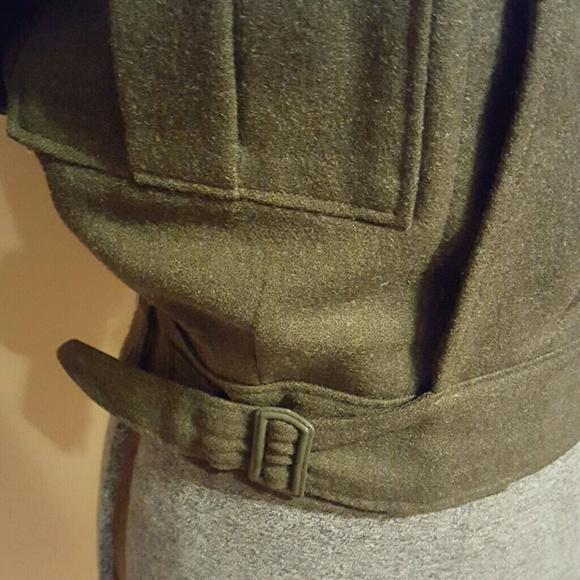 Vintage Jackets & Coats - Vintage Green Military Jacket