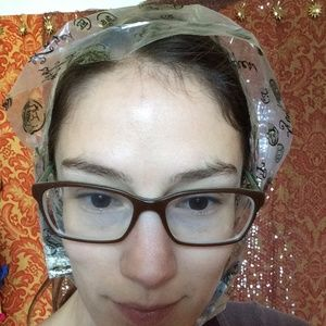 Vintage Accessories - 🎟 5 FOR $30 Finder's Keepers 60's Rain Bonnet Hat