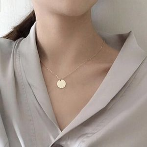 Jewelry - New Silver Coin Necklace