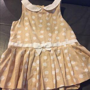 Janie and Jack polka dot romper/dress