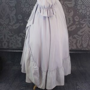 Vintage Dresses - SOLD 1970 VINTAGE VICTORIAN STYLE LONG BALL GOWN