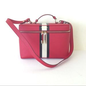 Henri Bendel Red Travel Case