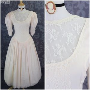 1840S INSPIRED VINTAGE VICTORIAN STYLE PRARIE GOWN