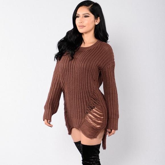 73d62cc900 Fashion Nova Sweaters - Unraveled sweater