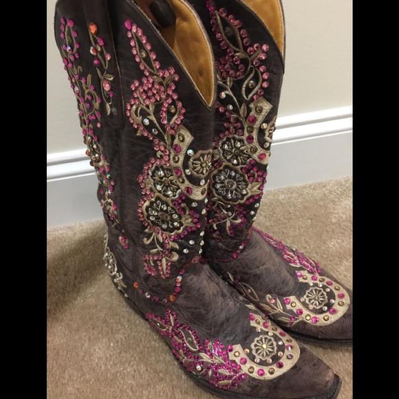 7aea5bd7ebf Old Gringo custom rhinestones cowboy boots