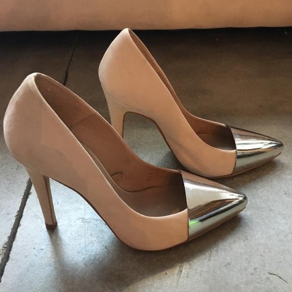 Zara Shoes   Zara Blush Pink Suede