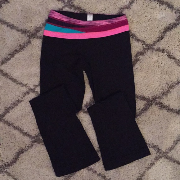 e7d7b140f641c Ivivva Bottoms | Black Boot Cut Legging Yoga Pants | Poshmark