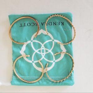 Kendra Scott Cuff Bracelets Worn Once