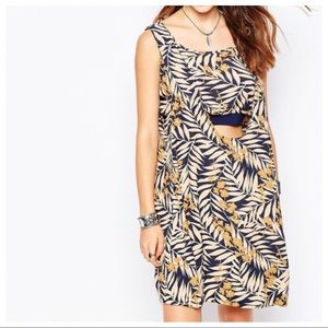 Free People Tropical Printed Dress