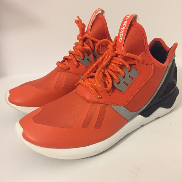 Adidas tubular Collegiate Orange hombre  95 95 95 usado 2x poshmark 51faac