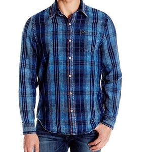 True Religion Plaid Woven Long sleeve shirt New
