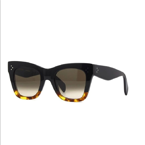 8ab6a81c8abb Celine Catherine sunglasses in black and tortoise