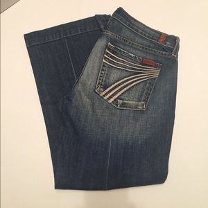 7 for all mankind Dojo pants -  size 28
