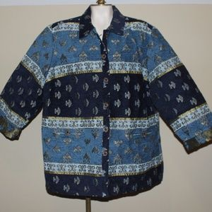 Sag Harbor Tapestry Jacket Womens