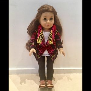 2 CUTE! AMERICAN GIRL SAIGE SWEATER OUTFIT BRAND NEW FAST SHIPPING