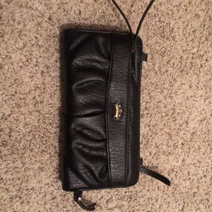 Juicy Couture wallet/clutch (black)