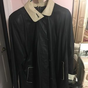 Tops - Leather jacket