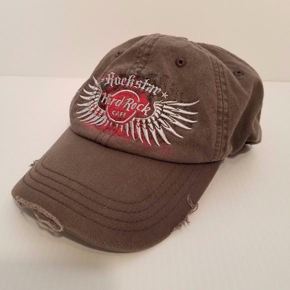 Hard Rock Cafe Other - Hard Rock Cafe New York Rockstar baseball hat 0e5f56cb0040