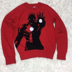 Gapkids Red sweater size (10) Marvel