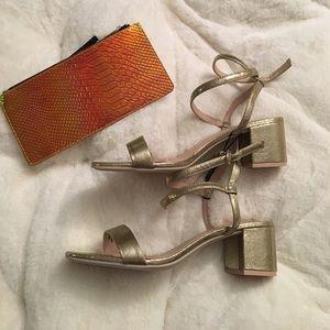 H&M brand chunky heels