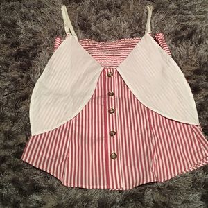 Brand new Dolce & Gabanna cotton striped top