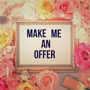 Other - All Offers Welcome! 😍🎀😍