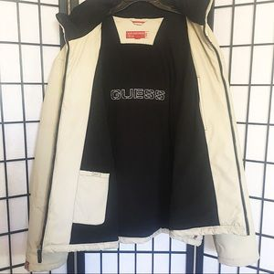 Vintage GUESS Leather Jacket