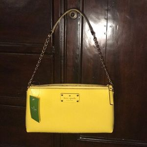 Kate Spade Wellesley Yellow Purse NWT
