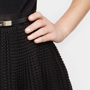 Ted Baker Knitted Full Skirt Dress