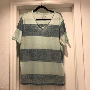 Striped V-Neck