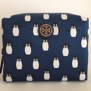 Tory Burch Cosmetic Bag - Penguins