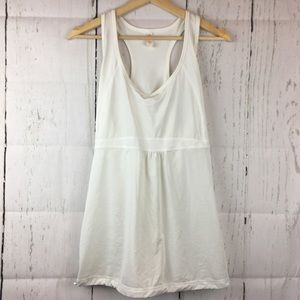 • Lucy • Athletic White Tank Top