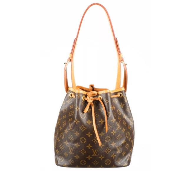 750e3ec837358 Louis Vuitton Handbags - Louis Vuitton vintage Brown petit Noe shoulder bag