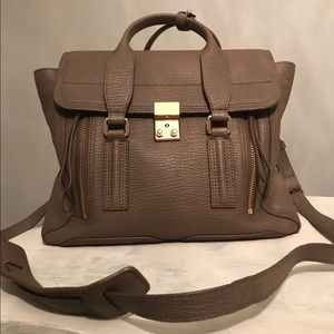Phillip Lim 3.1 Pashli taupe Medium satchel