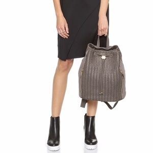 Deux Lux Woven Backpack, NWT
