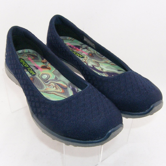 Se asemeja Ingresos Fragante  Skechers Shoes | 23312 Navy Blue Microburstone Up Memory | Poshmark
