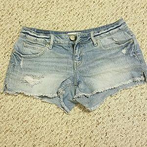 Jean shorts--Size 1/2
