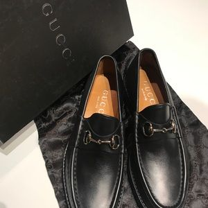 MENS CALFSKIN HORSE BIT LOAFER