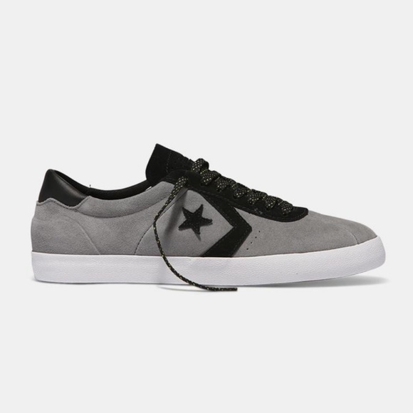 All Star Grayblack Suede Leather
