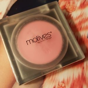 Motives Makeup - Motives by Loren Ridinger and Lala blush.