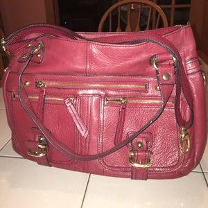 Beautiful red bag