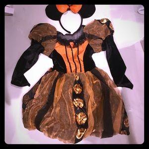Minnie Halloween Dress Size 4-5