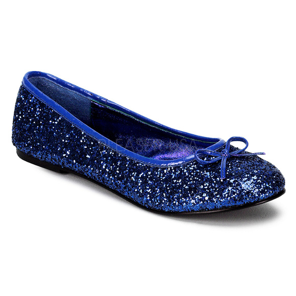 Shoes   Bow Round Toe Glitter Ballet
